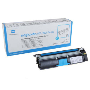 Konica Minolta original toner A00W331, cyan, 1500str., 1710-5890-03, s hologramom, Konica Minolta Magic Color 2400, 2430, 2450, O
