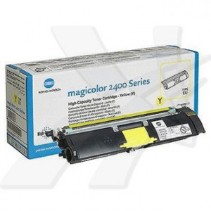 Konica Minolta originál toner A00W131, yellow, 1500str., 1710-5890-01, Konica Minolta Magic Color 2400, 2430, 2450