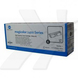 Konica Minolta originál toner A00W432, black, 4500str., 1710-5890-04, Konica Minolta Magic Color 2400, 2430, 2450, 2480, 2500, 253