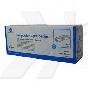 Konica Minolta original toner A00W332, cyan, 4500str., 1710-5890-07, Konica Minolta Magic Color 2400, 2430, 2450, 2480, 2500, 2530