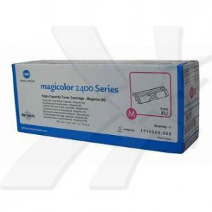 Konica Minolta original toner A00W232, magenta, 4500str., 1710-5890-06, Konica Minolta Magic Color 2400, 2430, 2450, 2480, 2500, 2