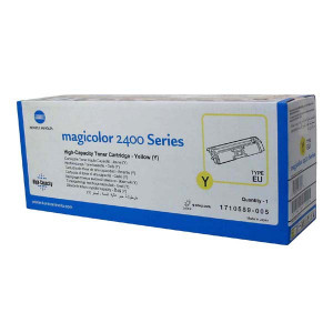 Konica Minolta originál toner A00W132, yellow, 4500str., 1710-5890-05, Konica Minolta Magic Color 2400, 2430, 2450, 2480, 2500, 25
