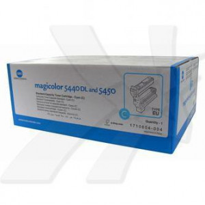 Konica Minolta original toner 4539334, cyan, 6000str., 1710-6040-04, Konica Minolta QMS Magic Color 5440DL, 5450, O