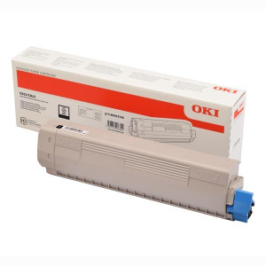 OKI original toner 46443104, black, 10000str., high capacity, OKI C833, C843, O