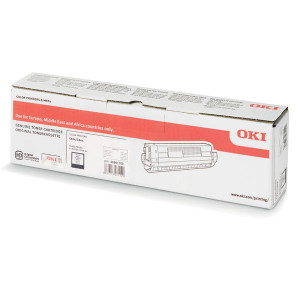 OKI original toner 46861308, black, 10000str., OKI 834, 844, O