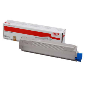 OKI original toner 44059168, black, 7000str., OKI MC851, MC861, O