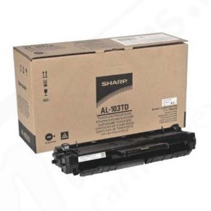 Sharp originál toner AL-103TD, black, 20000str., Sharp AL 1035, AL 1035 WH