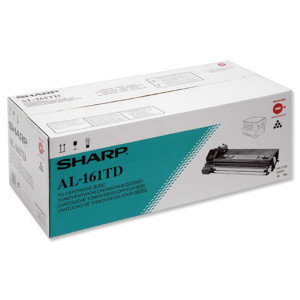Sharp originál toner AL-161TD, black, 15000str., Sharp AL-1600, AL-1670