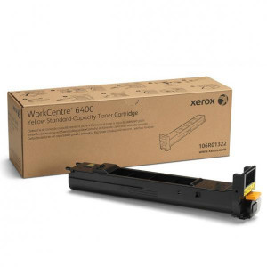 Xerox originál toner 106R01322, yellow, 8000str., Xerox WorkCentre 6400