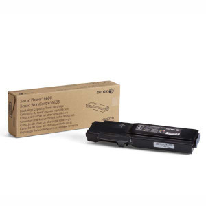 Xerox originál toner 106R02236, black, 8000str., Xerox Phaser 6600, Workcentre 6605