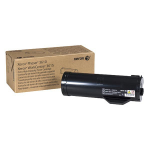 Xerox originál toner 106R02732, black, 25300str., Xerox Workcentre 3615, Phaser 3610