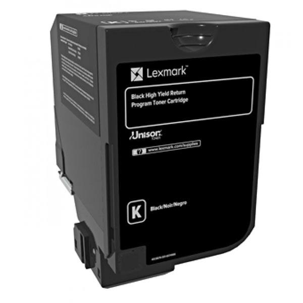 Lexmark Original Toner 84c2hk0  Black  25000str   Return