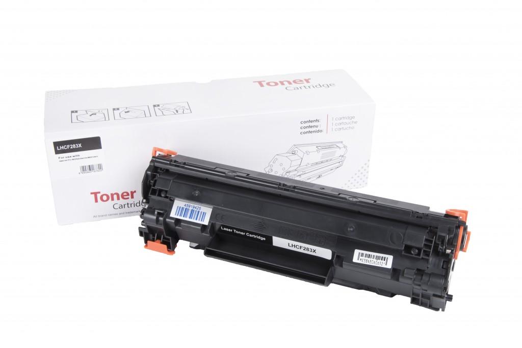 HP compatible toner cartridge CF283X, 2200 yield (Neutral