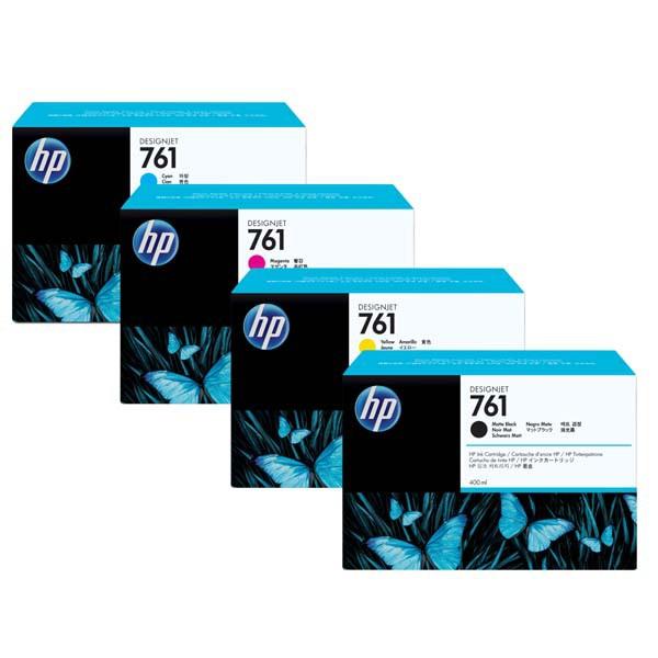 HP Originl Ink CR273A Grey 3x400ml 761 3 Pack DesignJet T7100